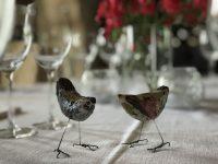 table d'hote at Manoir Jouralem