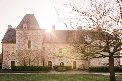 Manoir de Jouralem winter holiday