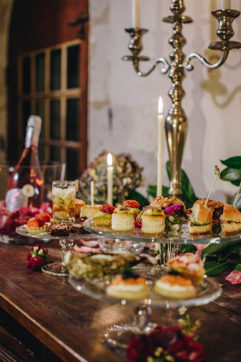 christmas buffet at Manoir de Jouralem